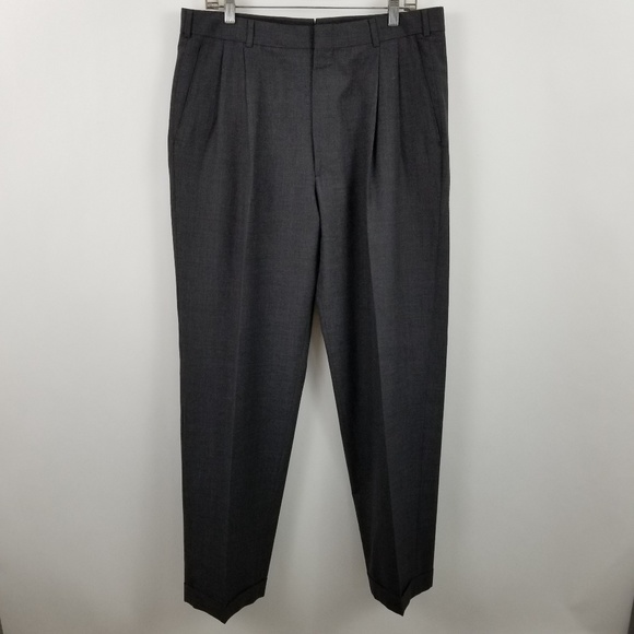 Brooks Brothers Other - Brooks Brothers Pleated Dark Charcoal Suit Pants